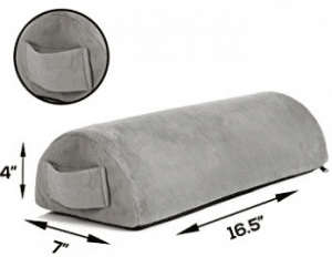 Pain Relief Memory Foam Leg Rest Cushion - Sciatica, Pregnancy, and Knee Pain Relief