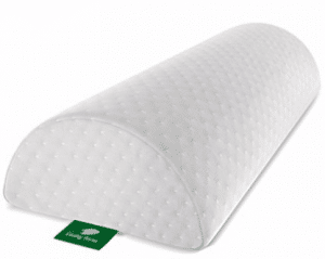 Back Pain Relief Half-Moon Bolster / Wedge by Cushy Form - Provides Best Support for Sleeping on Side