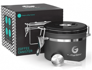 Coffee Gator Stainless Steel Container - Canister with co2 Valve