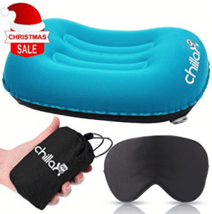 ChillaX UltraLight Camping Pillow