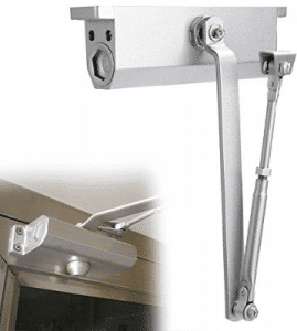Homdox Large Automatic Door Closer for Commercial and Residential Use Grade 1 Aluminum Alloy Door Close