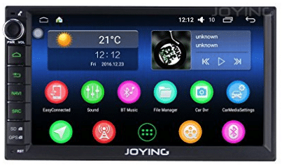 JOYING 7 Car Stereo 2GB 32GB Android 6.0 Head Unit Double Din