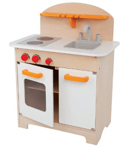 Hape Gourmet Kitchen Kid's Wooden Play Kitchen in White