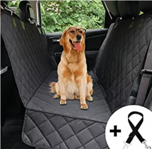 Honest Luxury Quilted Dog Car Seat Cover With Side Flap Pet Front&Backseat cover for Cars