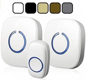 SadoTech Model CXR Wireless Doorbell with 1 Remote Button