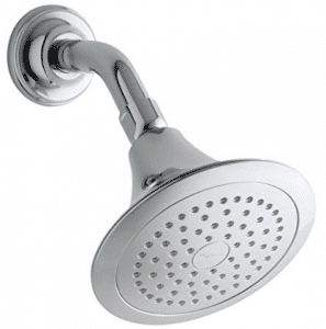 KOHLER K-10282-AK-CP Forte Single-Function Katalyst Showerhead