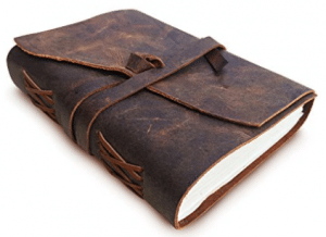 LEATHER JOURNAL Writing Notebook