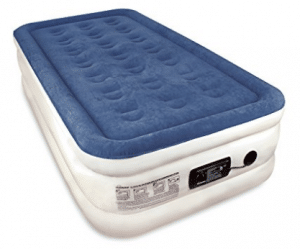 Twin Sized SoundAsleep Dream Series Air Mattress with ComfortCoil Technology