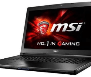 "MSI GL72 17.3"" 1920x1080 Gaming Laptop (2017), 7th Gen Intel i7-7700HQ quad-core 2.8GHz"