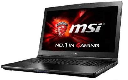 "MSI GL72 17.3"" 1920x1080 Gaming Laptop (2017), 7th Gen Intel i7-7700HQ quad-core 2.8GHz"