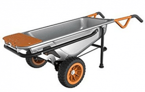 WORX Aerocart Multifunction 2-Wheeled Yard Cart