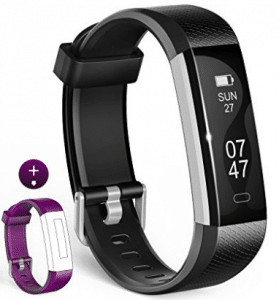 Fitness Tracker, Wesoo K1 Fitness Watch : Activity Tracker Smart Band with Sleep Monitor