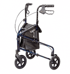 Walker 3 Wheel Trio Roller Walker - Carex Health Brands A33300