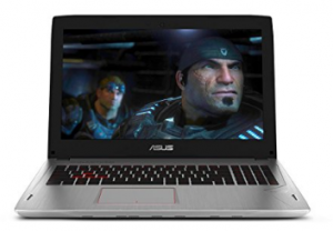 """ROG Strix GL502VM 15.6"""" G-SYNC VR Ready Thin and Light Gaming Laptop NVIDIA GTX 1060 6GB Intel Core i7-7700HQ"""