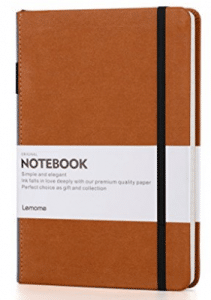 Thick Classic Notebook with Pen Loop - Lemome A5 Wide
