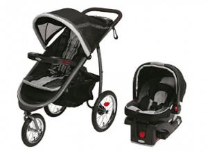 Système de voyage pour bébé Click Connect Jogger Graco Fastaction Fold