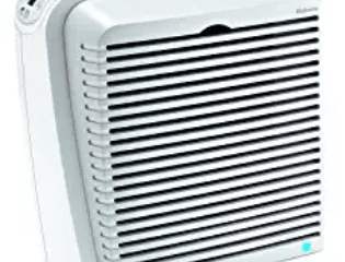 Holmes True HEPA Allergen Remover Air Purifier with Digital Display for Medium Spaces, White