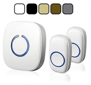 SadoTech Model CX Wireless Doorbell with 1 Receiver