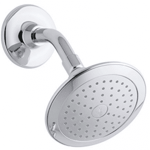 Kohler K-45123-CP Alteo Single-Function Katalyst Showerhead