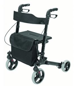 HealthSmart Euro Style Rollator Walker