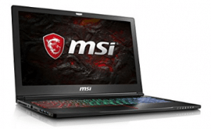 "MSI GS63VR Stealth Pro-230 15.6"" Ultra Thin and Light Gaming Laptop Intel Core i7-7700HQ GTX 1060 16GB 256GB NVMe SSD + 2TB VR Ready"