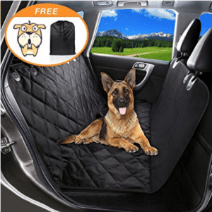 Pet Seat Cover Dog Car Seat Covers With Storage bag-600D Waterproof