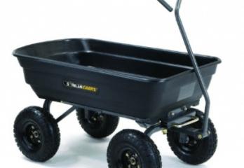 Top 10 Best Garden Carts in 2018 Reviews