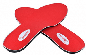 Instant-Relief Orthotics for Flat Feet by Samurai Insoles for Men or Women
