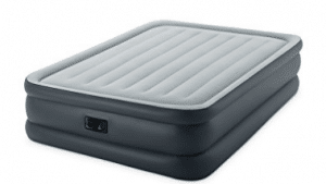 Intex Dura-Beam Standard Series Essential Rest Airbed with Built-In Electric Pump, Queen