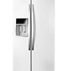Whirlpool WRS970CIDH 20.0 Cu. Ft. White Ice Counter Depth Side-By-Side Refrigerator