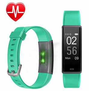Fitness Tracker HR, Letscom Activity Tracker Watch with Heart Rate Monitor