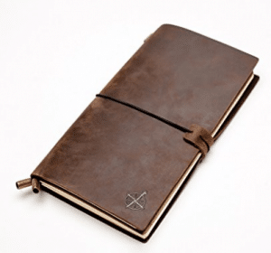 Wanderings Leather Notebook Journal | Leather Bound