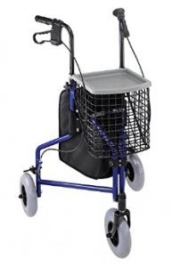 Duro-Med Folding Walker With Wheels