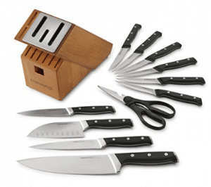 Calphalon Classic Self-Sharpening Cutlery Knife Block Set with SharpIN Technology