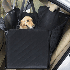 UPSKY Dog Car Seat Cover Luxury Pet Seat Cover with Mesh Window
