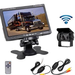 Camecho RC 12V 24V Car Backup Camera Rear View Wireless