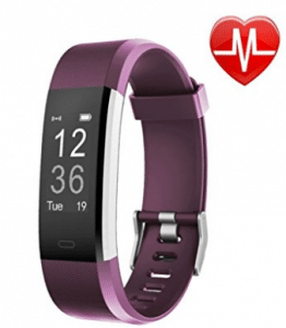 Fitness Tracker HR, Letsfit Wrist Heart Rate Monitor Watch