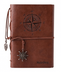 MALEDEN FBA_P-TND-HY48002-zong Leather Writing Journal Notebook