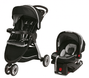 Graco Fastaction Fold Sport Click Connect Travel System Stroller