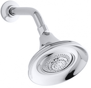 KOHLER K-10284-CP Forte Multifunction Showerhead, Polished Chrome