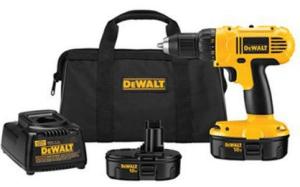 DEWALT DC970K-2 18-Volt Compact Drill/Driver Kit