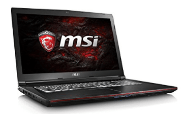 "MSI GP72VR Leopard Pro-281 17.3"" 120Hz 5ms Display Performance Gaming Laptop Core i7-7700HQ GTX 1060 16GB 1TB VR Ready"
