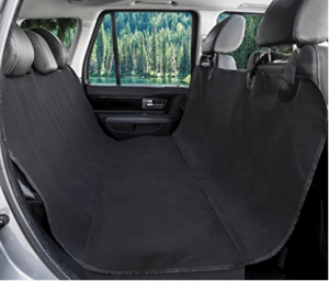BarksBar Original Pet Seat Cover for Cars - Black