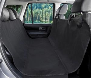 BarksBar Original Pet Seat Cover for Cars - Black