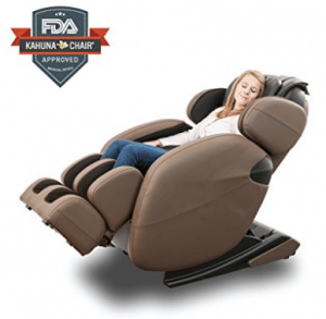 Space-Saving Zero-Gravity Full-Body Kahuna Massage Chair