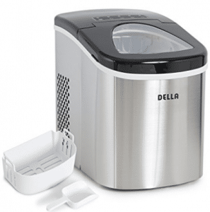 Della Portable Top Load Electric Ice Maker Produces up to 26 lbs. of Ice Daily