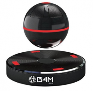 B4M ORB-Dark Black Portable Wireless Bluetooth 4.1