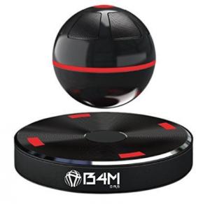 B4M ORB-Dark Black Portable Wireless Bluetooth 4.1