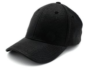 Classic PU LEATHER Plain Baseball Cap - Unisex Hat For Men & Women