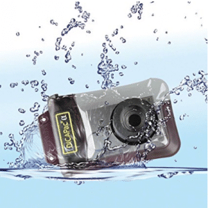 DicaPac WP410 (10.5x16.0cm) Small Zoom Alfa Waterproof Digital Camera Case